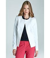 Пиджак  женский  белого цвета польского бренда Nife