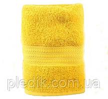 Полотенце махровое 70х140 желтое, 500г/м2 Rainbow K.Sari