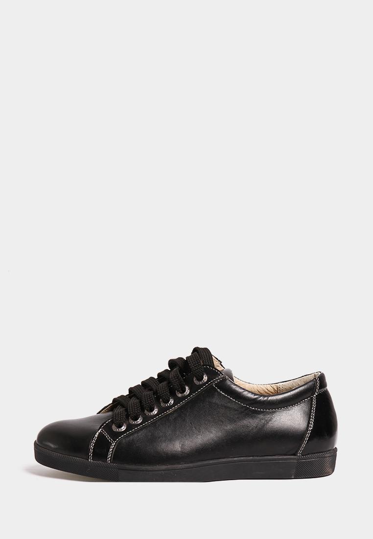 VM-Villomi Черные кожаные кеды