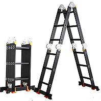 Лестница-трансформер GTM KMP404A  (4,6 м, 150 кг)