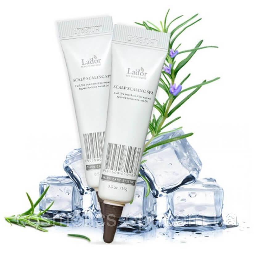 Пилинг для кожи головы La'dor Scalp Scaling Spa Hair Ampoule, 15 г