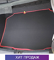 ЄВА килимок в багажник на Seat Ibiza '08-17 хечбек. Килим багажника EVA Сеат Ібіца