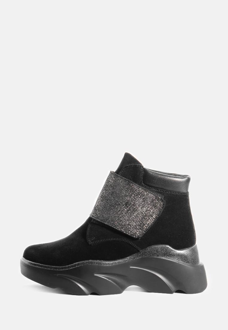 VM-Villomi Жіночі чорні зимові черевики на липучках