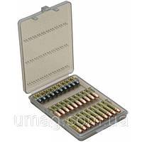 Коробка MTM Ammo Wallet для патронов 17 HMR, 22WMR, 22LR на 30 патронов, дымчатый