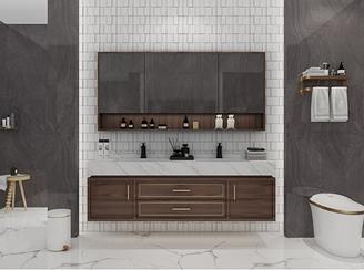 Комплект мебели для ванной Femida RD-503 1 метр с умным зеркалом В НАЛИЧИИ