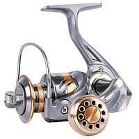 Спиннинговая катушка Deukio AR 4000. Безынерционная катушка для рыбалки шпуля металлическая.