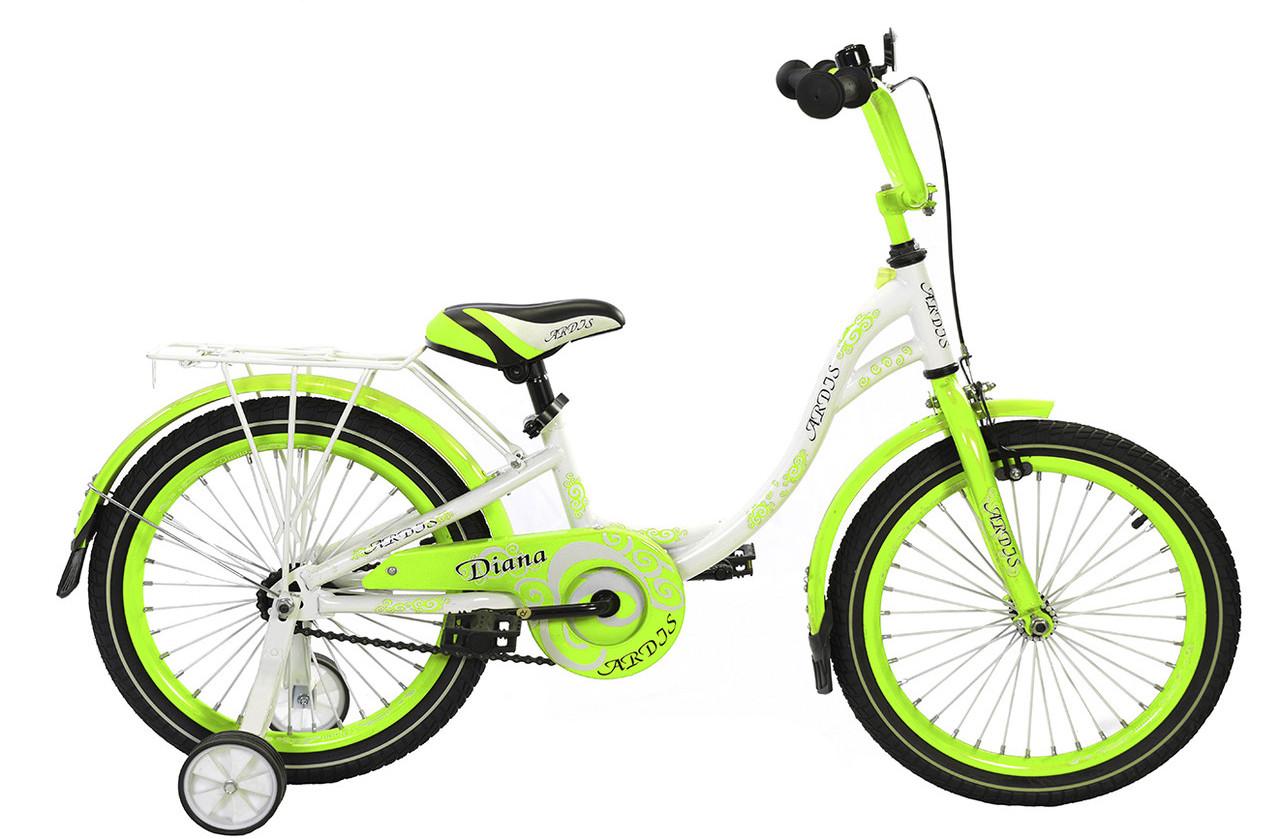 """Детский велосипед ARDIS DIANA 16""""  Салатовый"""