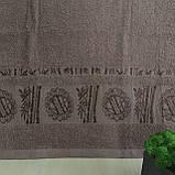Рушник банний Бамбук 140x70cm (300г/м2) пісочне, фото 4