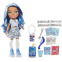 Набір з лялькою Пупсі Слайм Блакитна Леді Poopsie Rainbow Surprise Dolls ігровий набір