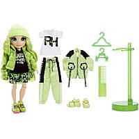 Лялька Рейнбоу Хай Джейд Хантер Rainbow High S2 Jade Hunter ігровий набір