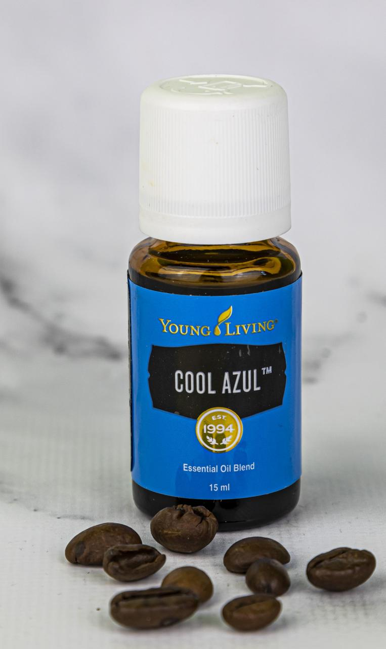 Эфирная смесь Cool Azul™ (Холодный синий) Young Living 15мл