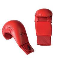 Перчатки adidas  для карате WKF красные