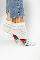 Женские носки FAMO Носочки Амад светло-серый 36-39 (NF-2002-28)