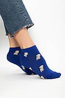 Женские носки FAMO Носочки Бабз синий 36-39 (NF-2002-23)