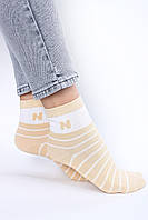 Женские носки FAMO Носочки Бесси желтые 36-40 (2807)