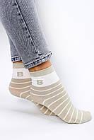 Женские носки FAMO Носочки Бесси оливковые 36-40 (2807)