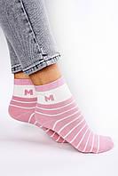 Женские носки FAMO Носочки Бесси розовые 36-40 (2807)