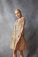 Платье FAMO Авил бежевый S S (4592385)