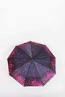 Жіночий парасольку FAMO Парасолька Джим чорний+рожевий 114*56*33 (V1055)