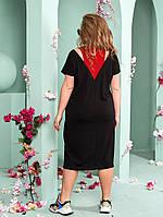 Женское платье большого размера.Размеры:52/66+Цвета