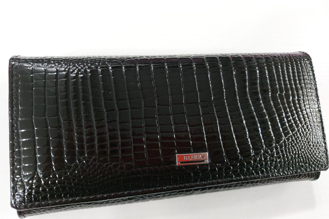 Женский кожаный кошелек Balisa 515Н1 черный Кожаный женский кошелек Балиса закрывается на магнит