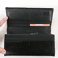 Женский кожаный кошелек Balisa 515Н1 черный Кожаный женский кошелек Балиса закрывается на магнит, фото 2