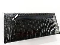 Женский кожаный кошелек Balisa 515Н1 черный Кожаный женский кошелек Балиса закрывается на магнит, фото 4