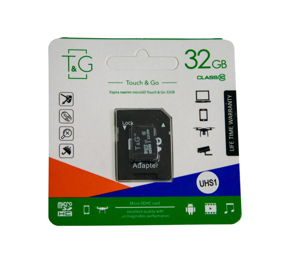 Sd карта памяти TG на 32 гб с адаптером, микро сд карта памяти для фотоаппарата | micro sd card (ST)