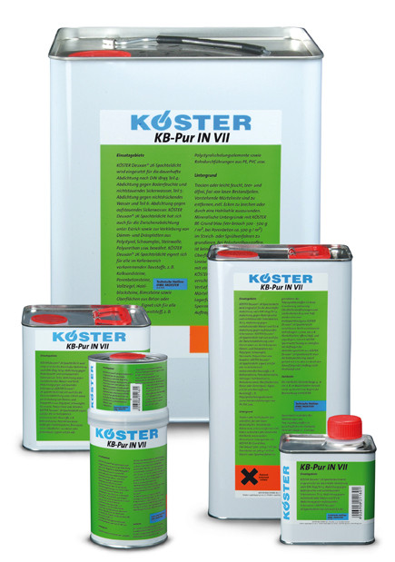 KÖSTER KB-Pur IN 7 Injektionsschaum  (канистра - 5,5 кг)