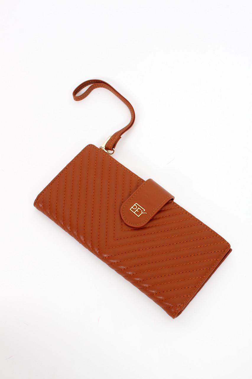 Гаманець No brand Аліса коричневий 10*20 (69-02)