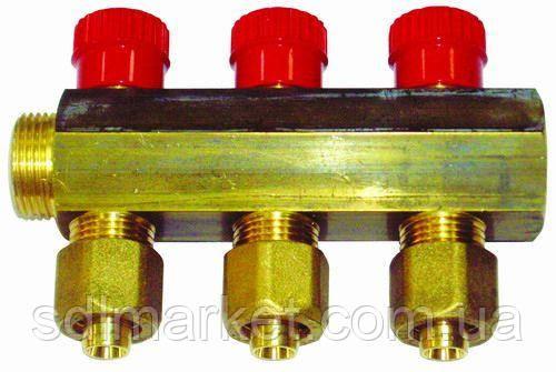 Коллектор APE ITALY 7886 L 3/4х16 6-ой с перекрытием