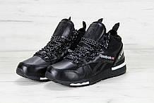 Зимние Мужские черные Кроссовки Reebok GL6000