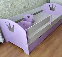 """Детская кровать """"Корона"""", кровать для девочки, кровать в детскую"""