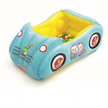 Детский надувной игровой центр-бассейн Bestway 93535 Машина возраст 2+
