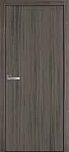 Глухое - Дуб Атлант (60, 70, 80, 90см). Коллекция Колори А. Межкомнатные двери МДФ Новый Стиль