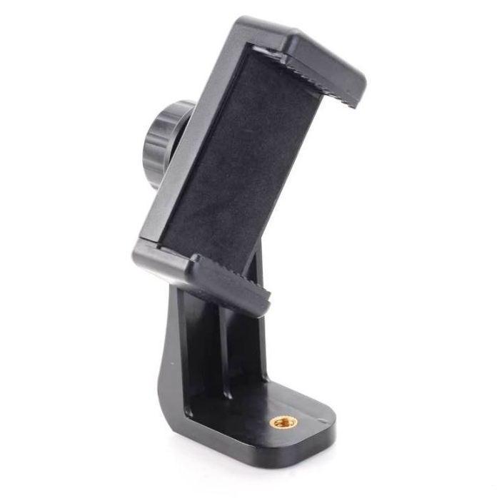 Кріплення (адаптер - тримач) для встановлення телефонів на монопод, штатив - обертовий Puluz PU410 Rotate