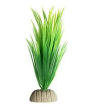 Рослини штучні в акваріум зелені - довжина 13см, пластик