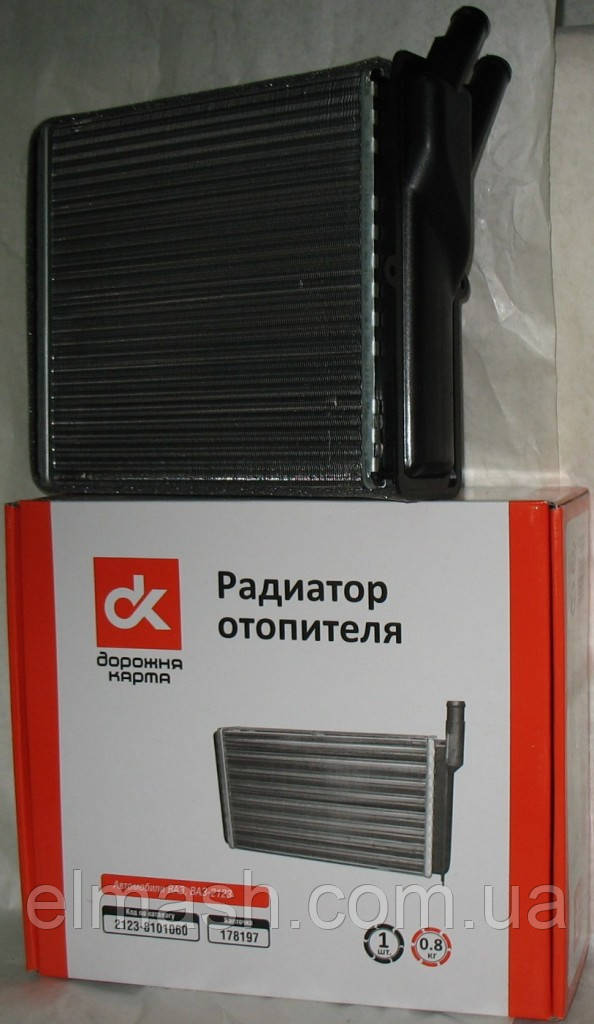 Радиатор отопителя ВАЗ 2123 <НИВА -ШЕВРОЛЕ> <ДК>