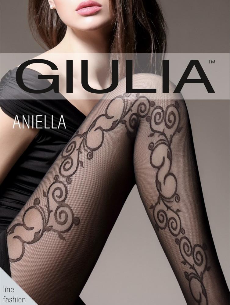 Колготки жіночі Джулия ANIELLA 40 (5) nero