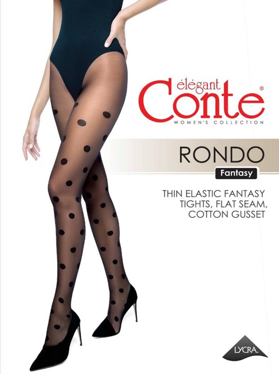 Колготки жіночі Conte CE FANTASY RONDO nero
