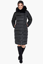 Жіноча практична куртка чорного кольору модель 31049, фото 2