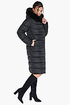Жіноча практична куртка чорного кольору модель 31049, фото 3