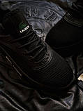 Стильні кросівки LACOSTE Total Black, фото 4