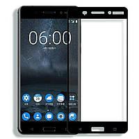 Защитное стекло 2.5D Full Screen на Nokia 6, фото 1
