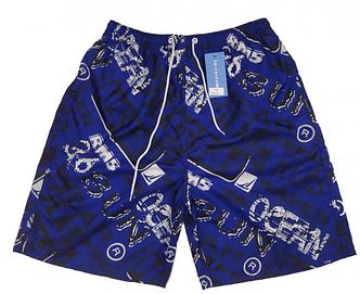 Мужские пляжные шорты CASTOM 13106  2XL синий