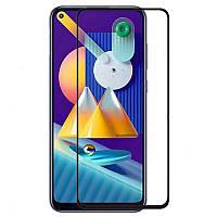 Защитное стекло 3D AndSer Full Glue на Samsung Galaxy M11, фото 1