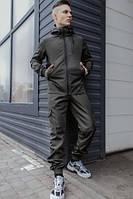 Мужской костюм (куртка + штаны) Softshell хаки