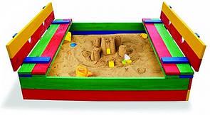 Детская песочница цветная 11