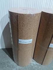 Пробковая подложка 5 мм, 0,5х8м, ТМ Bazalux Eco Mini Roll / Коркова підкладка рулонна