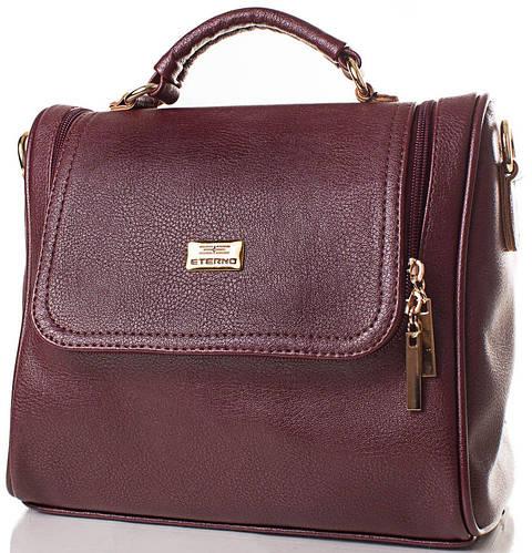Женская сумка из фактурной искусственной кожи ETERNO (ЭТЕРНО) ETMS35212-17-1